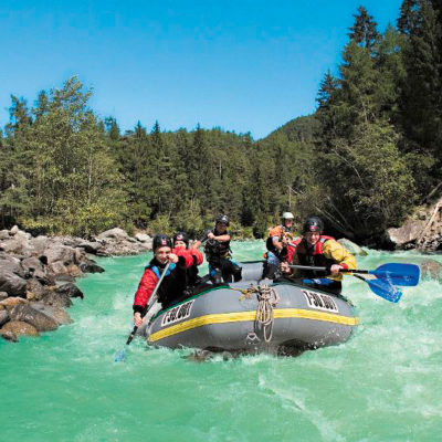 Rafting in the AREA 47