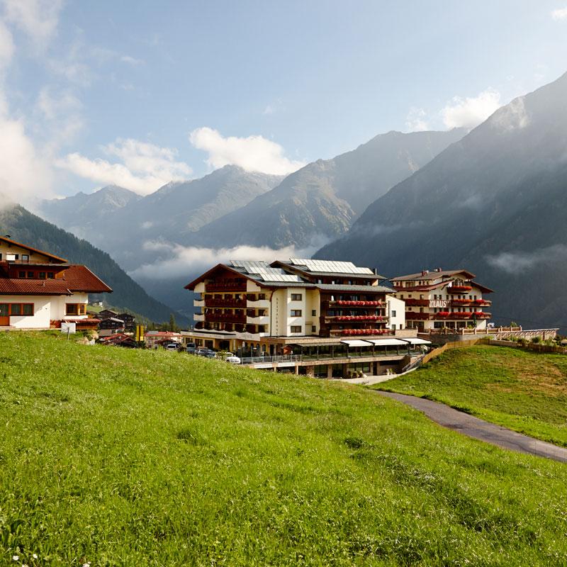 Der Alpengasthof Grüner