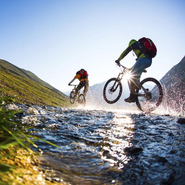 Mit dem Bike durch die Natur
