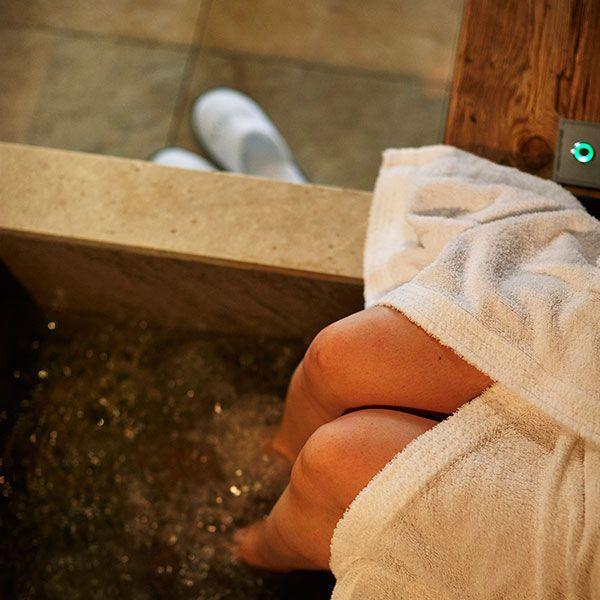 Fußbad zum Verwöhnen