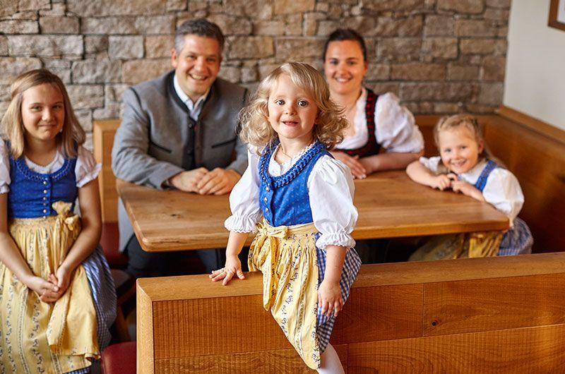 Ihre Gastgeberfamilie