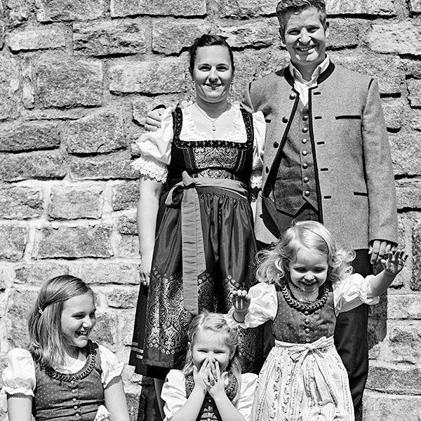 Tradition in der Gastgeber-Familie