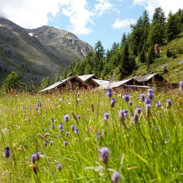 Urige Hütten im Ötztal