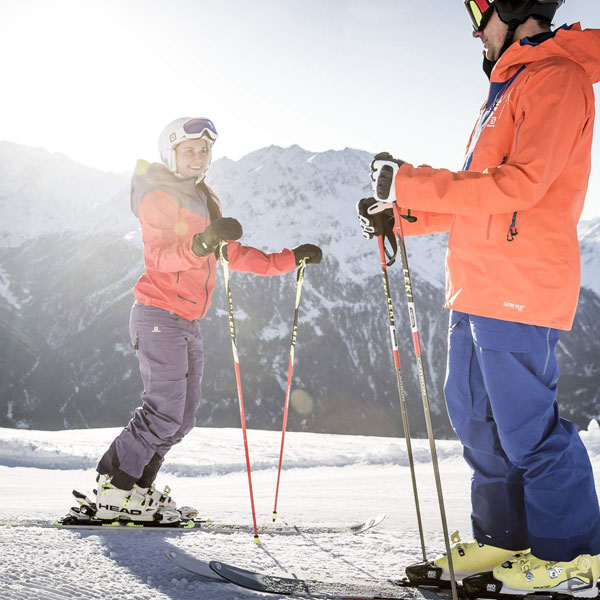 Märchenhafter Skitag