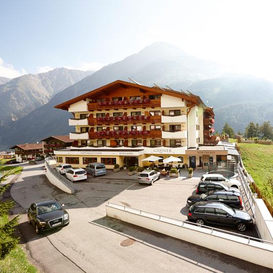 Willkommen im Alpengasthof Grüner