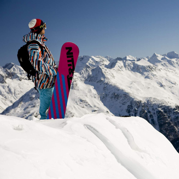 Snowboard Sölden