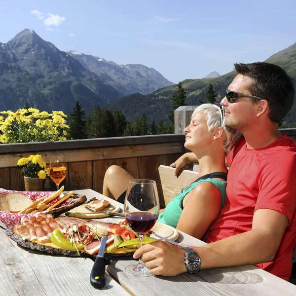 Romantik Paarurlaub im Ötztal