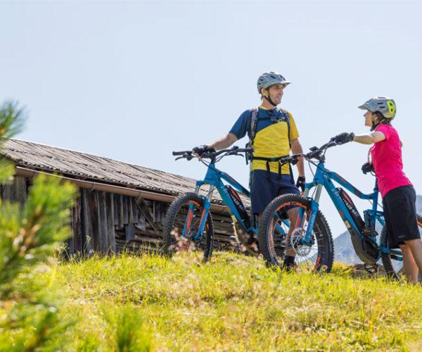 E-Bike-Touren im Tiroler Ötztal